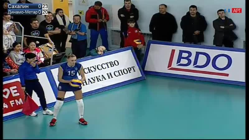 Чемпионат России. 2018/19. 3-й тур. Женщины. Сахалин - Динамо Метар.