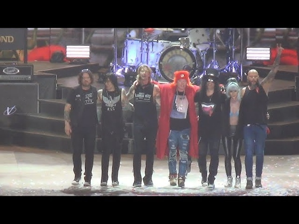 Guns N' Roses «Live in Moscow» 13.07.18(Full Show).Not in This Lifetime... Tour
