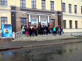 Хор исполняет гимн Республики Башкортостан
