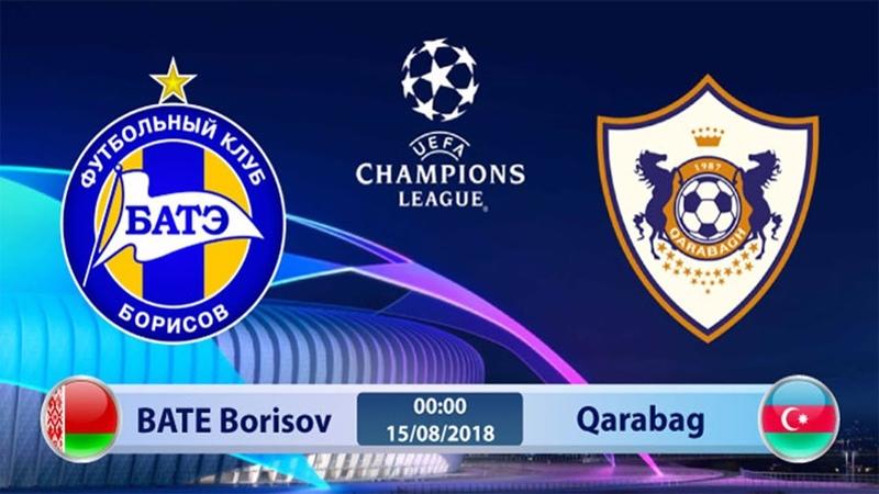 Bate Borisov - Qarabag LİVE / БАТЭ - Карабах