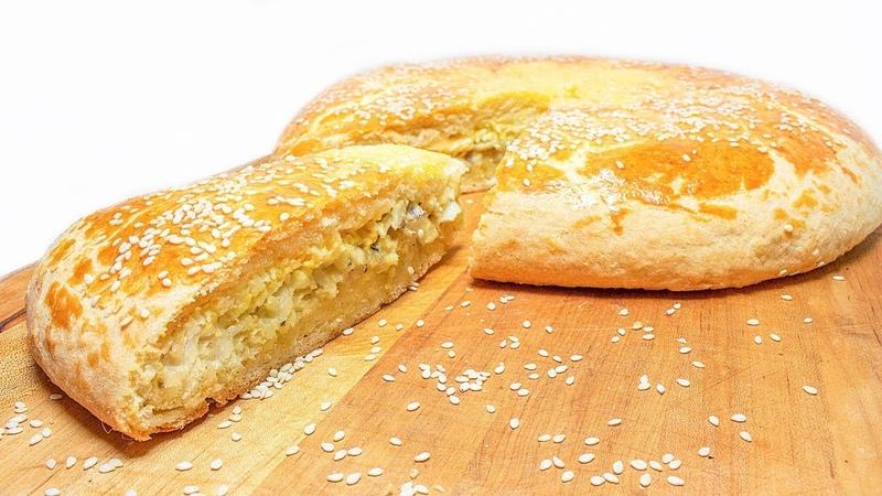 Пирог с РЫБОЙ, Яйцом и Сыром.