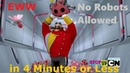 Parody Everything Wrong With Sonic Boom No Robots Allowed in 4 Minutes or Less