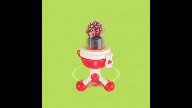Начните утро малыша 👶 со свежих вкусных сочных и полезных фруктов и ягод 🍎🍐🍑 При помощи уникального ниблера