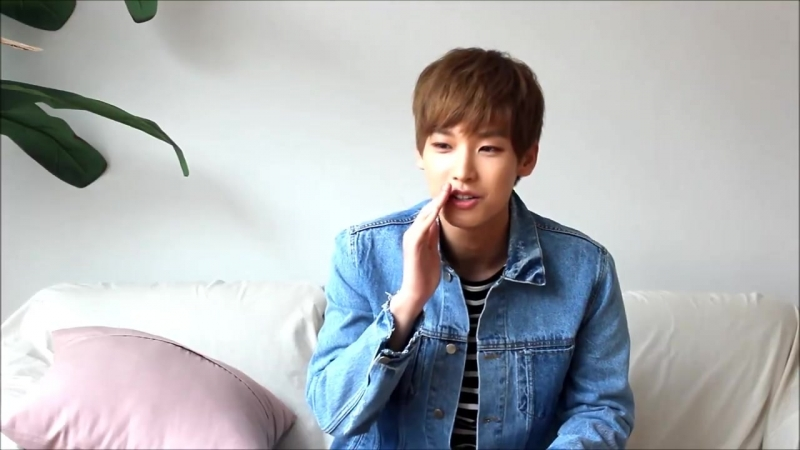 180503 SF9 Inseong's Greeting for Campus Plus Vol.147 May Issue @ 캠퍼스플러스 (campl2006) Facebook