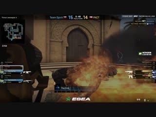 Победа vs PACT (ESEA, game 1)
