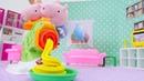 Peppa Wutz Spielzeuge kneten mit Play Doh! Kinder Video
