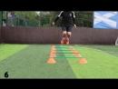Superdome Hurdles 10 Football Training drills