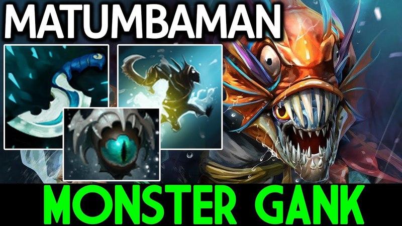 MATUMBAMAN [Slark] Monster Gank 7.13 Dota 2