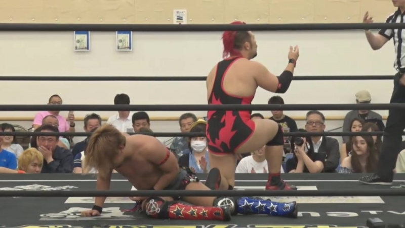 Akito Shunma Katsumata vs Akira Jo Keisuke Okuda DDT DNA 45