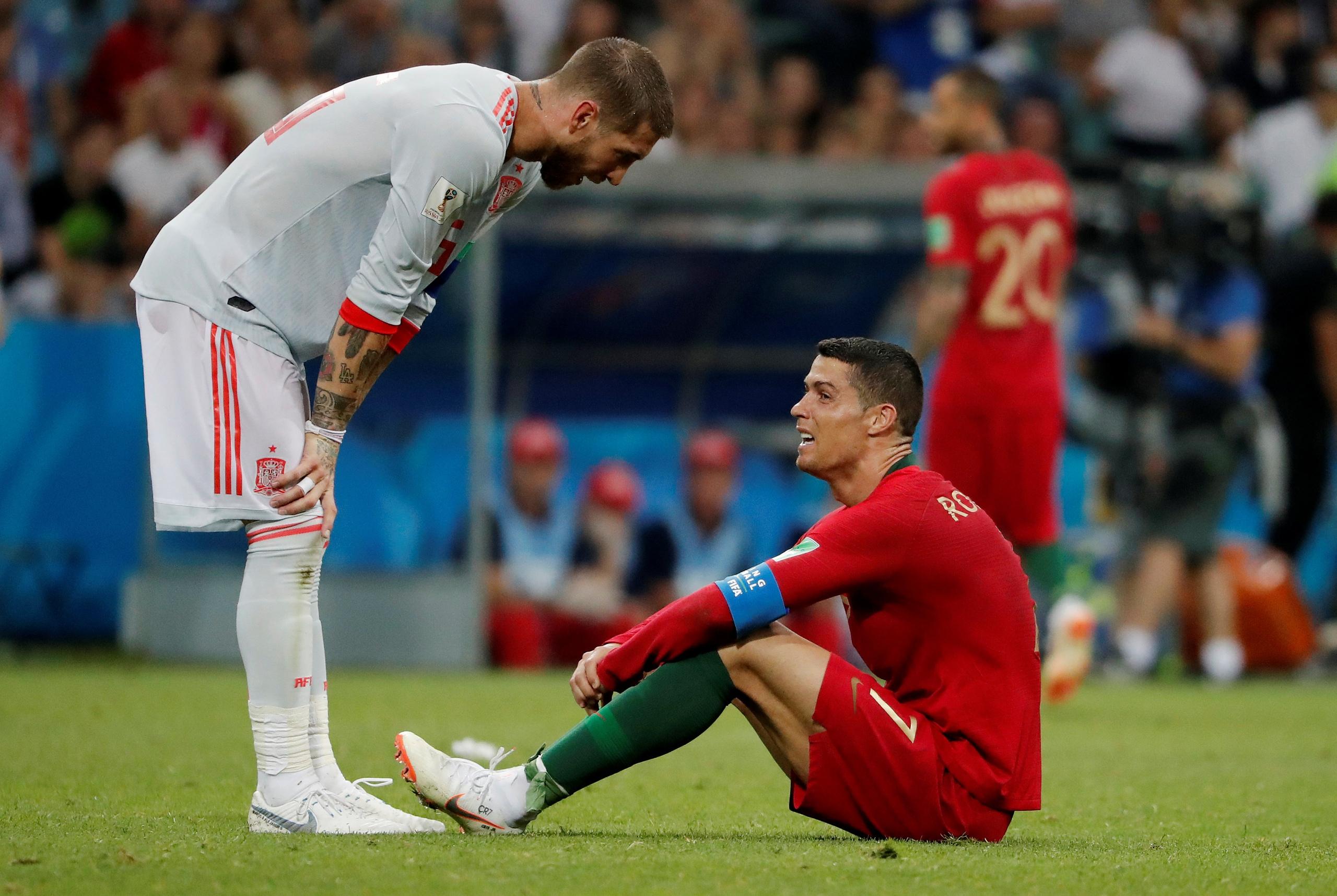 Завершился матч ЧМ-2018 Португалия — Испания