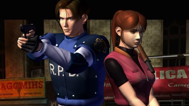 Resident Evil 2 1998 Леон(ардо) Эс Кеннеди ч.1