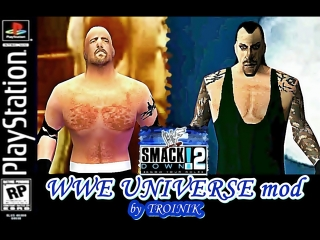 WWF SmackDown 2 - WWE Universe Mod by Troinik - Roster Highlights (PSX) (PS1)  = СмакДаун2 - Вселенная ВВИ  (Автор Тройник)