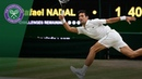Novak Djokovic vs Rafael Nadal SF Highlights Wimbledon 2018