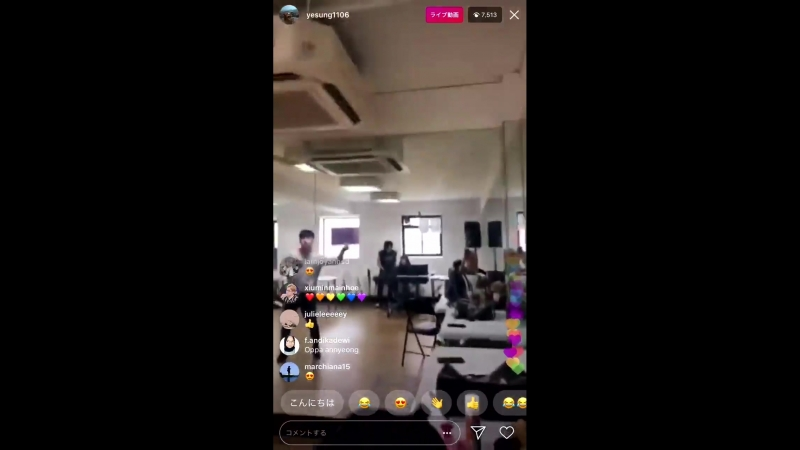 [VIDEO] 180726 INFINITE Dongwoo on Super Junior Yesungs Instagram Live -