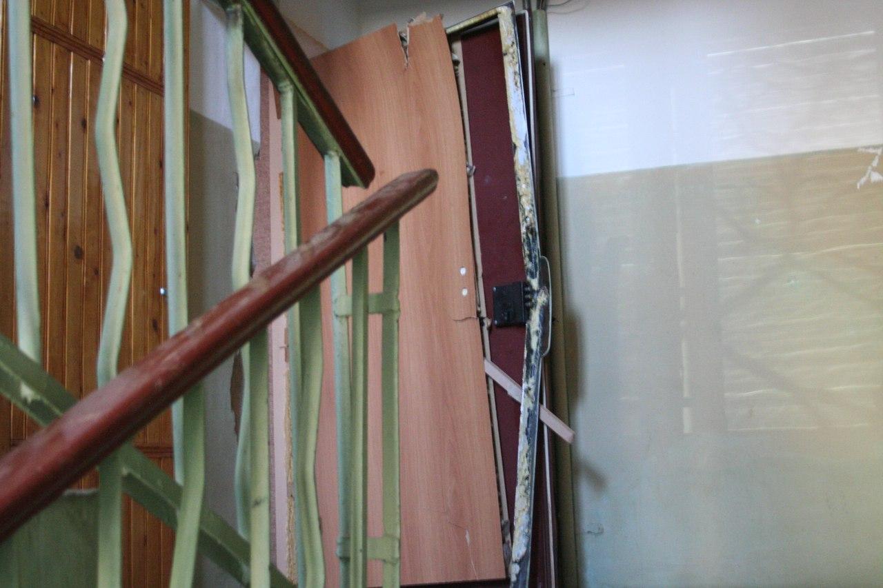 ВГатчине вжилом доме произошел взрыв