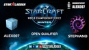 2019 WCS Winter Open Qualifier 1 Match 4: Alex007 (R) vs Stephano (Z)