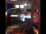 На Новом Арбате чувак на Lamborghini столкнулся с Audi