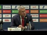 Ак Барс - Олимпийская сборная России: пресс-конференция, 4 августа 2018