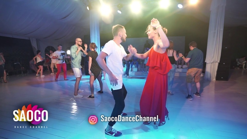 Vsevolod Bogomol and Lera Kolobova Salsa Dancing in Malibu at The Third Front, Sun 05.08.2018 (SC)