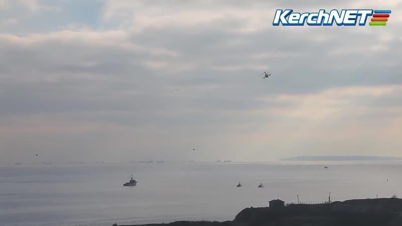 Конфікт у протоці вертольоти, штурмовики та танкер