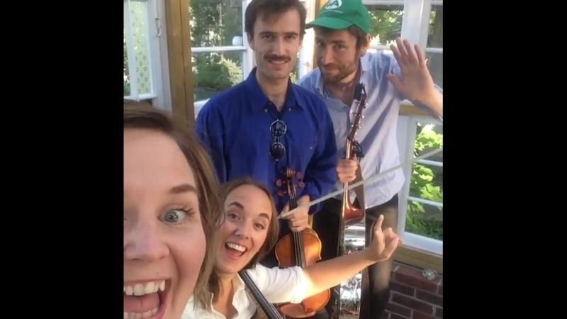 TeleGram band dag på Kajas hjemmebane 13 06 2018 Anne Marit Bergheim