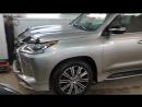 Lexus LX 570 противоугонная защита и Webasto в Угона.нет Томск