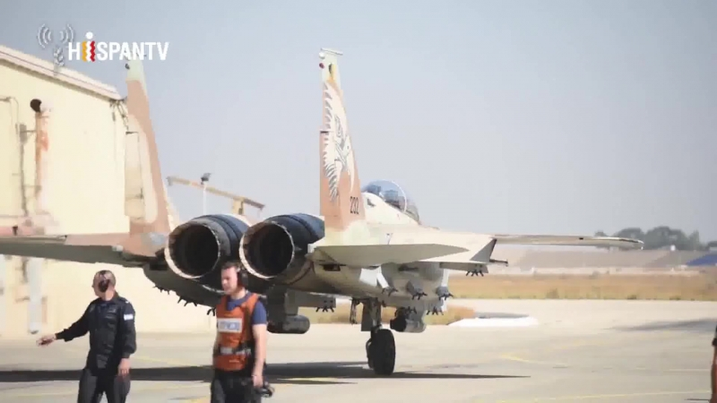 Cazas israelíes practican ataque a cientos de objetivos en Gaza