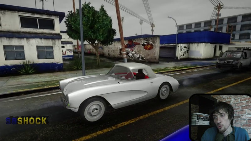 GTA San Andreas SA DirectX 2.0 обзор \ графика \ реакция