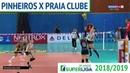 Pinheiros x Praia Clube - Superliga de Vôlei Feminino 2018-2019