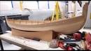 Construction dun bateau viking modèle réduit