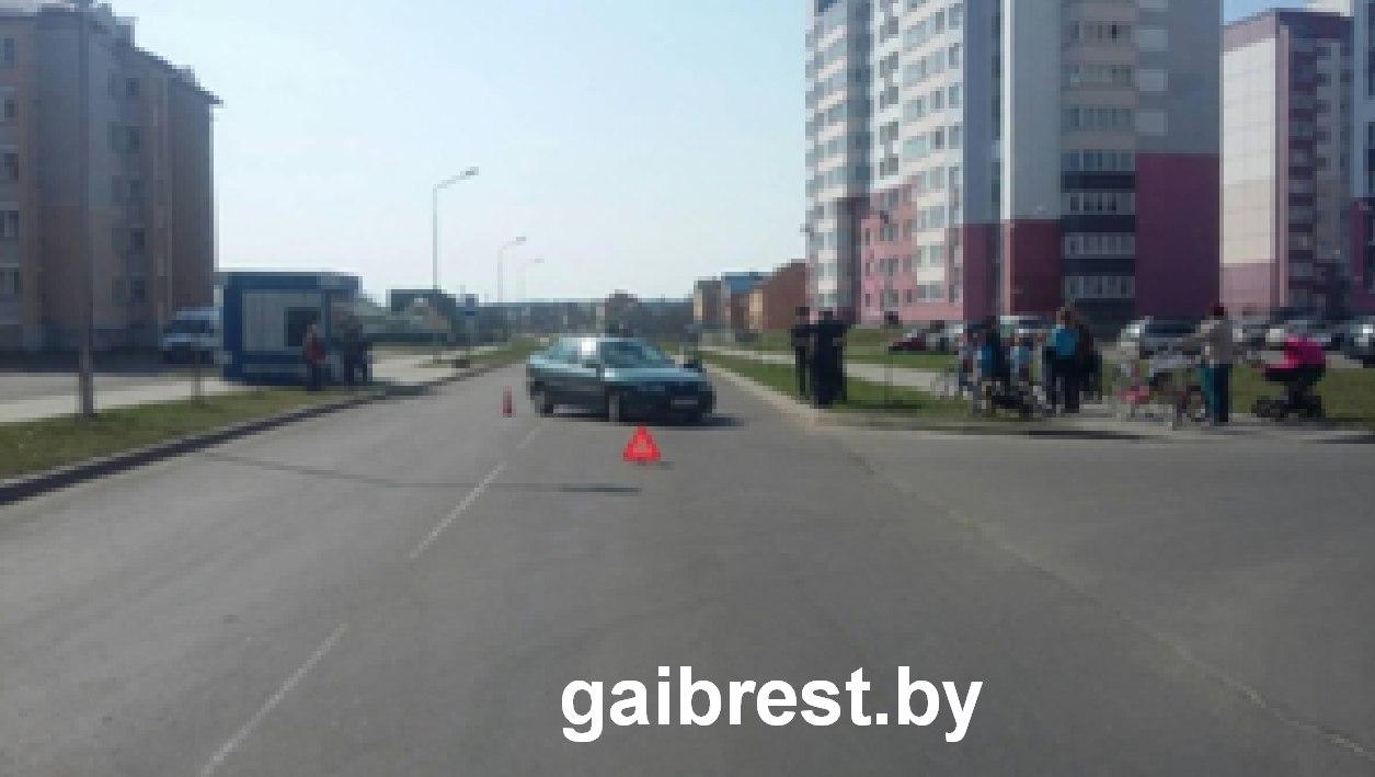 В Пинске произошло ДТП, в результате которого ранен  ребенок