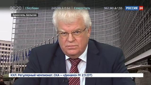 Новости на Россия 24 • Очередной промах Порошенко: Донбасс топчет сапог украинского оккупанта