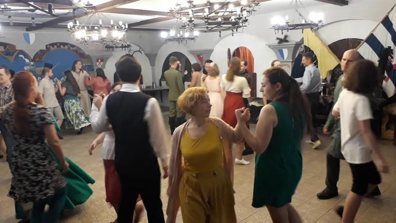 Вальс Лясная качка Вечар старадаўніх танцаў у МПДіМ