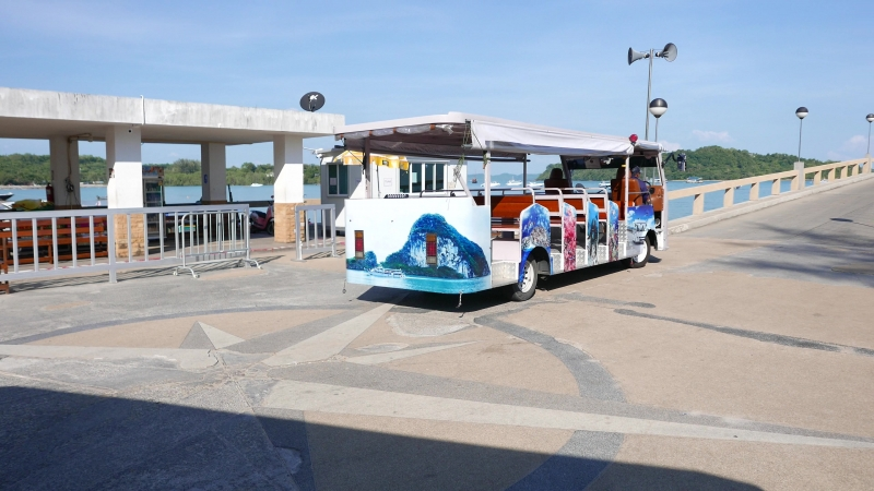 Pier Bus to ferry port. Phuket, Thailand