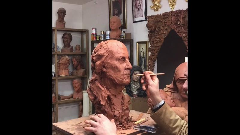 Escultura Paco De Lucia, Escultor López Del Espino