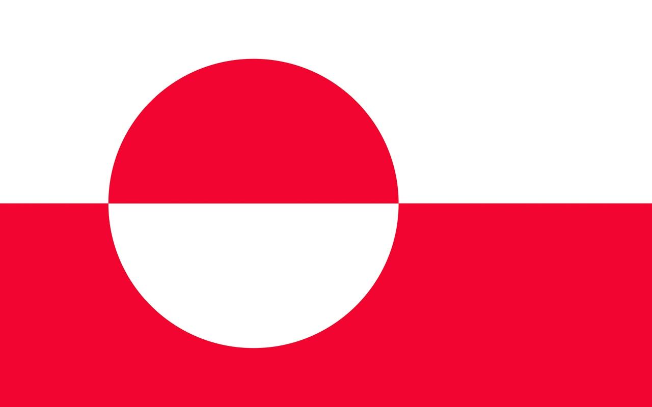 Флаг Гренландия