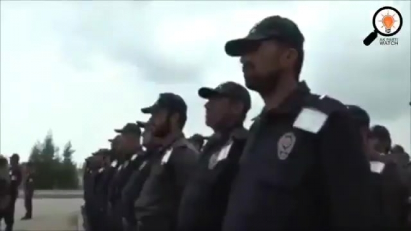 The newly established Turkish police in the occupied city of Afrin consists of former al-Qaeda jihadists and Salafists who shout