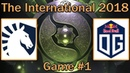 Team Liquid vs OG Map 1 bo2 RU The International 8