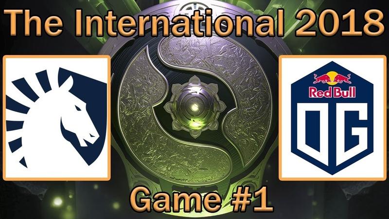 Team Liquid vs OG | Map 1 bo2 [RU] | The International 8