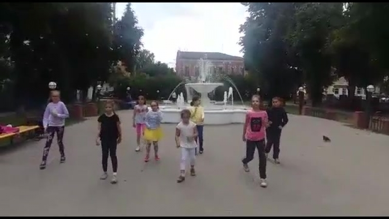 Флешмоб Летняя площадка 2018 1 смена