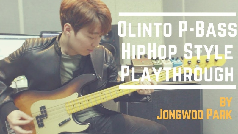 Olinto P-Bass - HipHop Style   Jongwoo Park   박종우