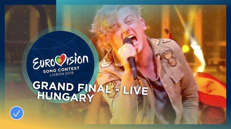 AWS Viszlát Nyár Hungary LIVE Grand Final Eurovision 2018