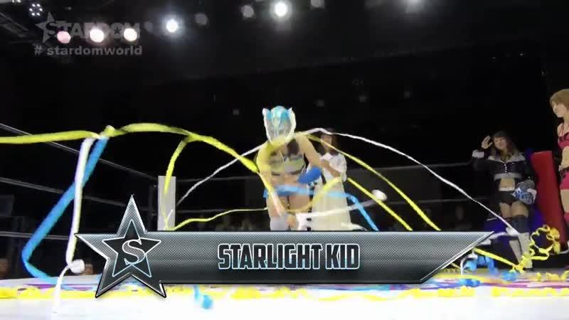 Momo Watanabe Utami Hayashishita vs. Natsumi Starlight Kid - Stardom Goddesses Of Stardom 2018 - Tag 3 (Afternoon Show)