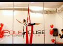 Филеткина Вера.Воздушная гимнастка на полотнах.