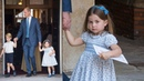 Princess Charlotte's cheeky comment after Prince Louis' christening