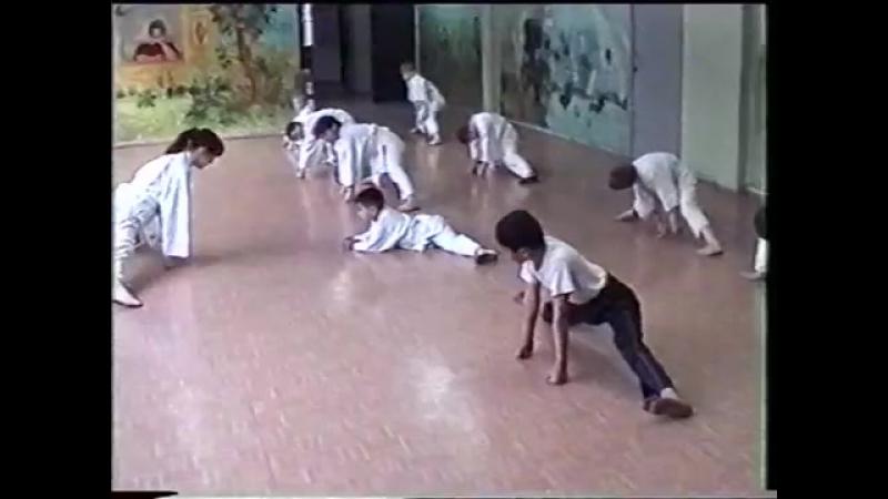 Федерация Окинава каратэ и кобудо . Детская группа. Тула . 30.04.2004 г