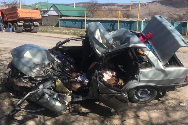 Страшное ДТП произошло в Хабезском районе