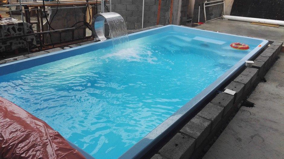композитные бассейны в Краснодарском крае, купить пластиковый бассейн