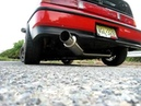 Crx B18c5 with invidia exhaust