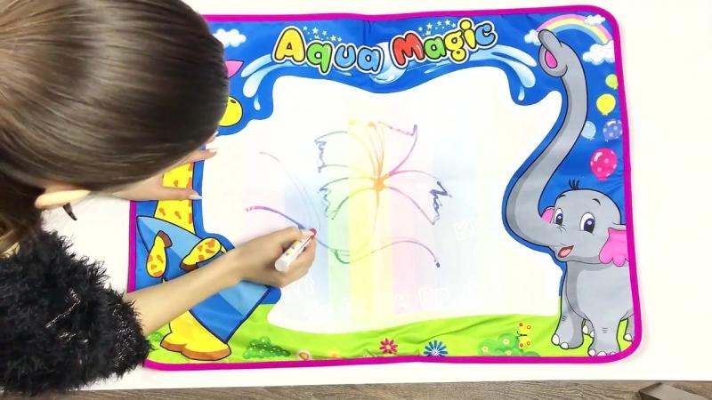 Рисуй водой - набор для детского творчества за 990 руб